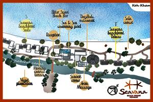 Seavana Beach Resort Plan