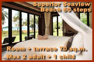 Seavana Beach Resort Superior Seaview