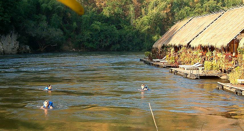 River Floating - River Kwai Jungle Raft