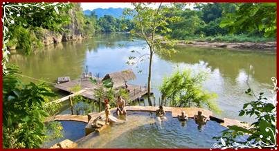 Natural Pool and Spa - Hintok River Camp