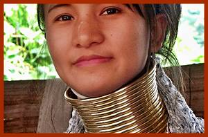 Kayan Long neck hill tribe
