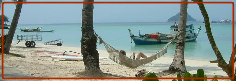 Relax in front of Holiday Inn Resort Phi Phi Island