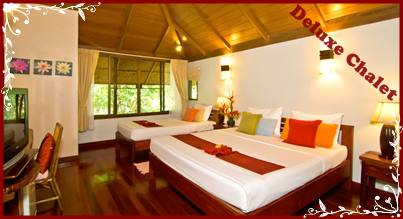 Deluxe Chalet - River Kwai Resotel