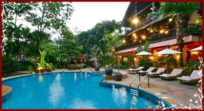 Swimmingpool - River Kwai Resotel