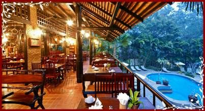 Restaurant and Pool - River Kwai Resotel