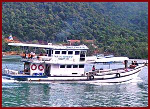 Koh Chang Sea Hunter Fishing Boat
